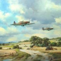 hurricanes-summer-1940-oil-24x18