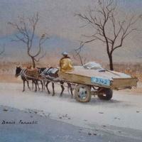 2-mule-cart-china